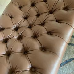 Grosfeld House Grosfeld House Bench in Tufted Lambskin Leather - 2066483