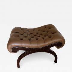 Grosfeld House Grosfeld House Bench in Tufted Lambskin Leather - 2068779