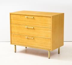 Grosfeld House Grosfeld House Primavera Wood 3 Drawer Modern Dressers - 1829664