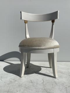 Grosfeld House Pair of Slipper Vanity Chairs - 1133507