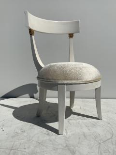 Grosfeld House Pair of Slipper Vanity Chairs - 1133508