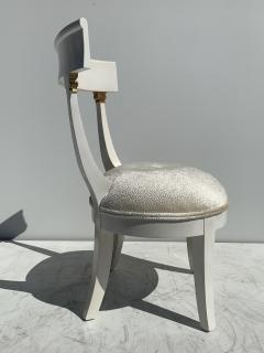 Grosfeld House Pair of Slipper Vanity Chairs - 1133509