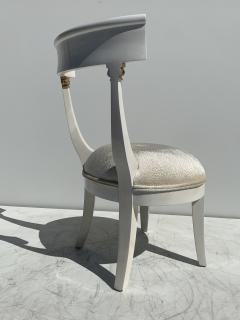 Grosfeld House Pair of Slipper Vanity Chairs - 1133510