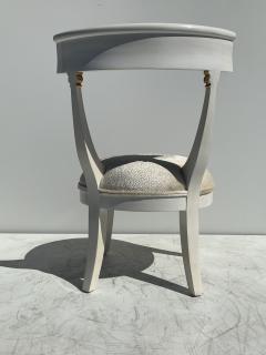 Grosfeld House Pair of Slipper Vanity Chairs - 1133511