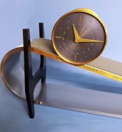 Gubelin Complicated Mid Century Incline Plane Clock - 509446