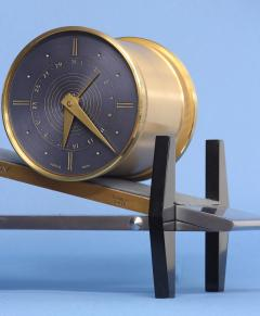 Gubelin Complicated Mid Century Incline Plane Clock - 509449