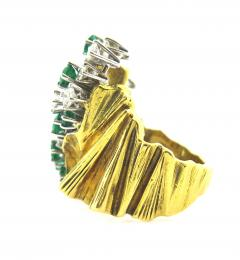 Gubelin Gubelin Emerald and Diamond Gold Ring - 161647