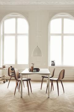 Gubi Gubi 3D Dining Chair in American Walnut by Komplot Design - 1697618