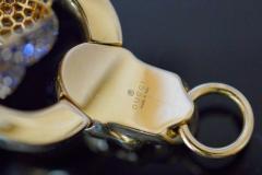 Gucci 18K Gucci Flower Skull Bracelet - 339638