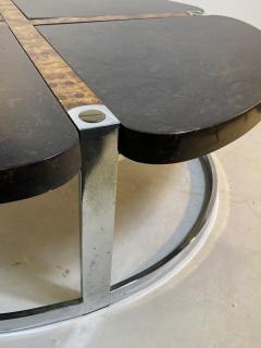 Gucci GUCCI STYLE MODERNIST STONE CHROME BRASS DESIGN COFFEE TABLE - 1381877