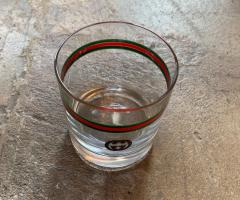 Gucci Gucci 20th Century Modern Glasses Set 6 Italy 1980s - 1136220