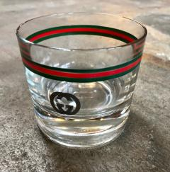 Gucci Gucci 20th Century Modern Glasses Set Italy 1980s - 1020664
