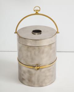 Gucci Gucci Chrome Brass Champagne Ice Bucket - 1241094