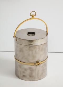 Gucci Gucci Chrome Brass Champagne Ice Bucket - 1241095