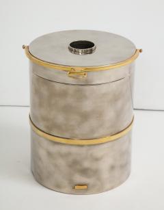 Gucci Gucci Chrome Brass Champagne Ice Bucket - 1241096