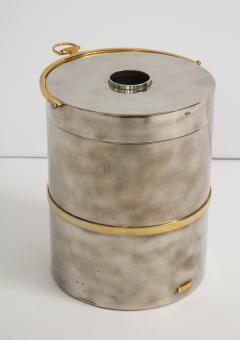 Gucci Gucci Chrome Brass Champagne Ice Bucket - 1241098