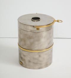 Gucci Gucci Chrome Brass Champagne Ice Bucket - 1241108