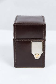 Gucci Gucci Leather Box Lighter and Notepad Holder - 258627
