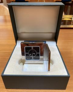 Gucci Gucci Limited Edition Luxury Travel Clock 1970s - 1546101