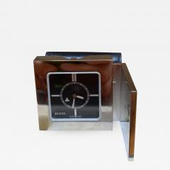 Gucci Gucci Limited Edition Luxury Travel Clock 1970s - 1547212