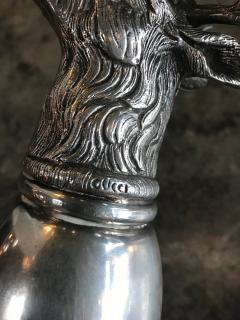 Gucci Gucci Stag Silver Stirrup Cup Signed Italy 1970s - 1020655
