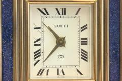 Gucci Gucci Vintage 8 Day Blue Lapis Travel Clock - 621197