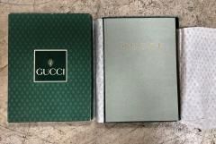 Gucci Gucci Vintage Agenda Phone Address Notebook Italy 1980s - 1020705