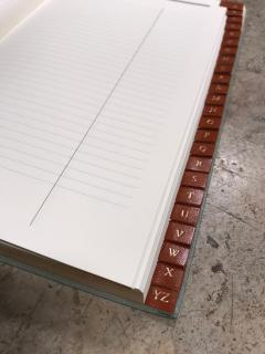 Gucci Gucci Vintage Agenda Phone Address Notebook Italy 1980s - 1020706