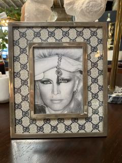 Gucci Gucci Vintage Monogram Picture Frame Italy 1970s - 1549958