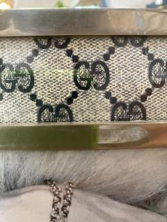 Gucci Gucci Vintage Monogram Picture Frame Italy 1970s - 1549961