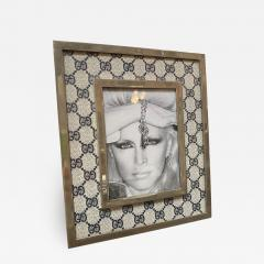Gucci Gucci Vintage Monogram Picture Frame Italy 1970s - 1551272
