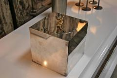 Gucci Ice Bucket in Silver Plate and Brass by Gucci - 543757