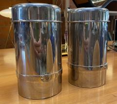 Gucci Pair of Two Gucci Silver Wine Ice Bucket Cooler Holder 1970s - 1549937