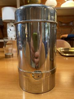 Gucci Pair of Two Gucci Silver Wine Ice Bucket Cooler Holder 1970s - 1549942