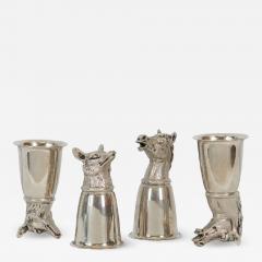 Gucci Silver Gucci Stirrup Cups - 1231486