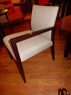 Gunlocke Four Midcentury American Made Armchairs by Gunlocke Co after Risom - 1881271