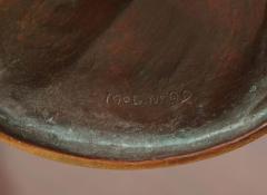 Gustav Gurschner Gustav Gurschner Bronze Figural Tray made in Austria - 463424