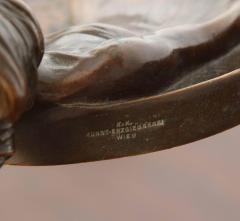 Gustav Gurschner Gustav Gurschner Bronze Figural Tray made in Austria - 463425