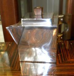H L Linton Paris Outstanding unique cubist coffee tea service by H L Linton Paris - 1418307
