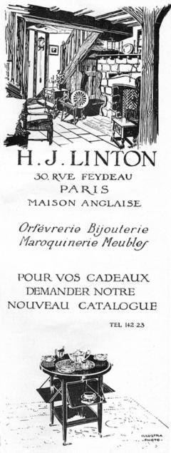H L Linton Paris Outstanding unique cubist coffee tea service by H L Linton Paris - 1418353