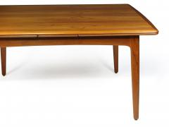 H P Hansen M belindustri HP Hansen Teak Draw Leaf Dining Table - 1704530