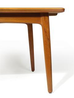 H P Hansen M belindustri HP Hansen Teak Draw Leaf Dining Table - 1704532