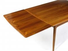 H P Hansen M belindustri HP Hansen Teak Draw Leaf Dining Table - 1704536