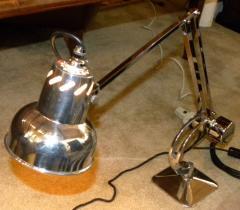 Hadrill Horstmann Vintage Industrial Hadrill Horstmann Counterweight Lamp - 123574