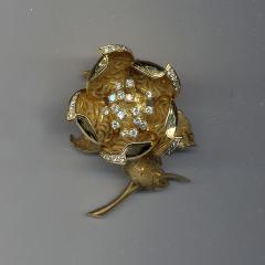 Hammerman Brothers HAMMERMAN BROS 18KT GOLD DIAMOND EN TREMBLANT PIN - 1094454