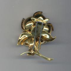 Hammerman Brothers HAMMERMAN BROS 18KT GOLD DIAMOND EN TREMBLANT PIN - 1094455