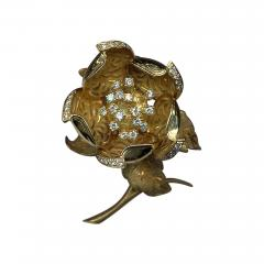 Hammerman Brothers HAMMERMAN BROS 18KT GOLD DIAMOND EN TREMBLANT PIN - 1096348