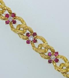 Hammerman Brothers Hammerman Brothers Ruby and Diamond Bracelet - 1139542