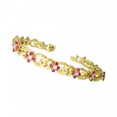 Hammerman Brothers Hammerman Brothers Ruby and Diamond Bracelet - 1140638
