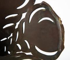 Handel Co Fine Handel Peacock Feather Lamp with a Geometric Shape - 1773135